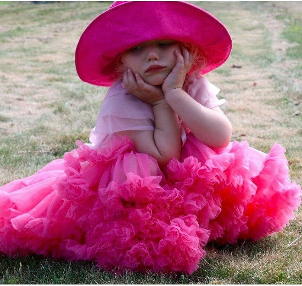 Luckyauction Baby Girls Dance Tutu Pettiskirt Multi-Layer Princess Ballet Tutu Skirt