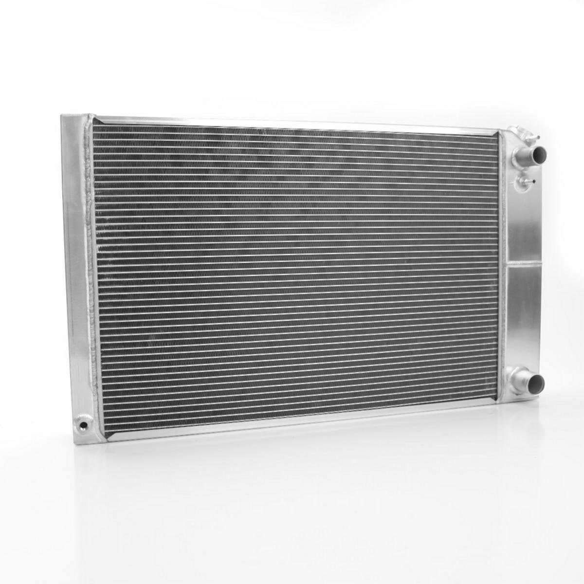 Griffin Radiator 8-00010-LS Dominator Series Universal Fit Cross Flow Radiator for 70-81 Camaro with LS1-LS2-Early LS3