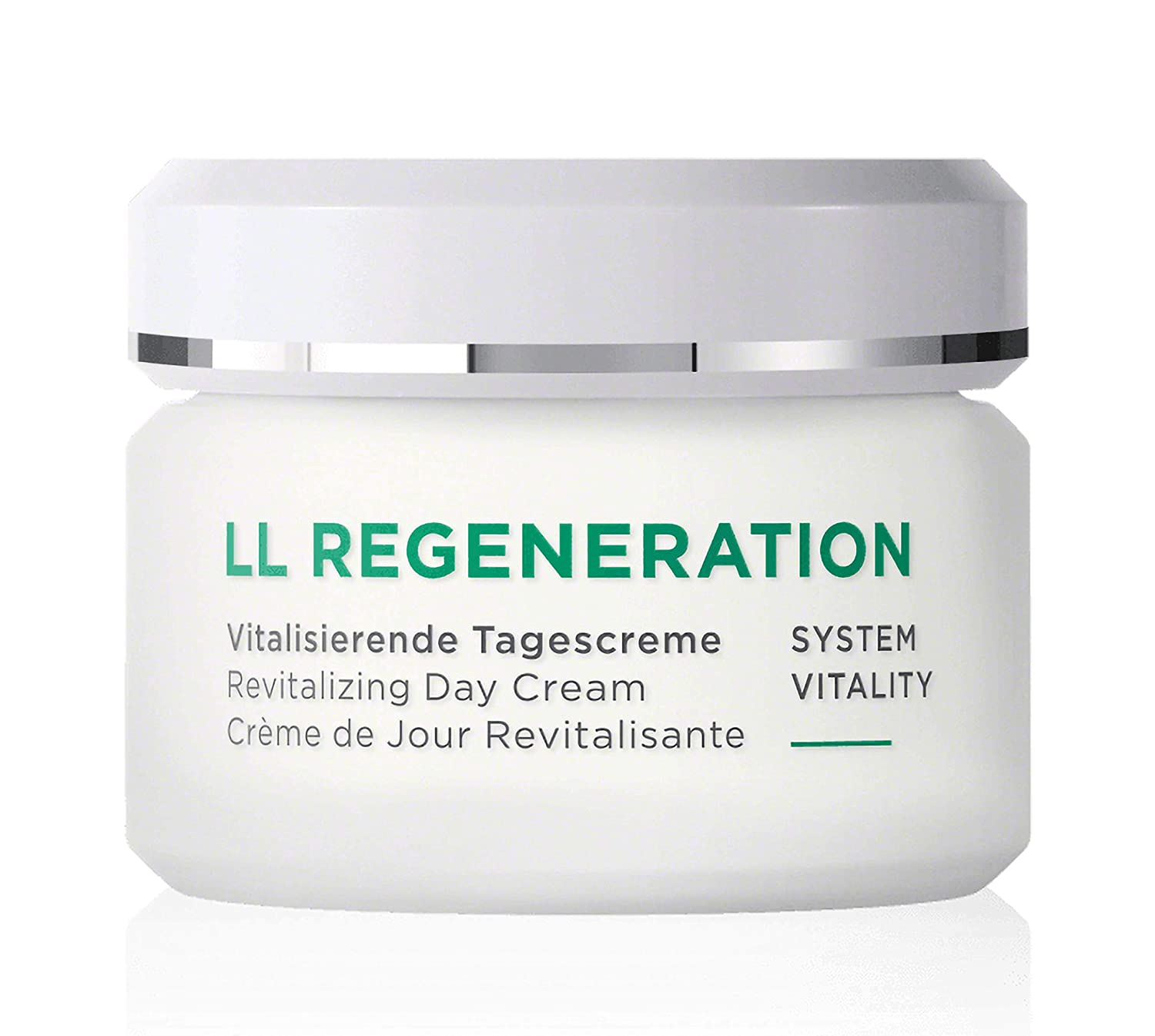 ANNEMARIE BÖRLIND – LL REGENERATION Revitalizing Day Cream – Sustainably Sourced Natural Anti-Aging Facial Moisturizer for a Visibly Firmer and Revitalized Skin – Step 3 of 5 – 1.69 oz.