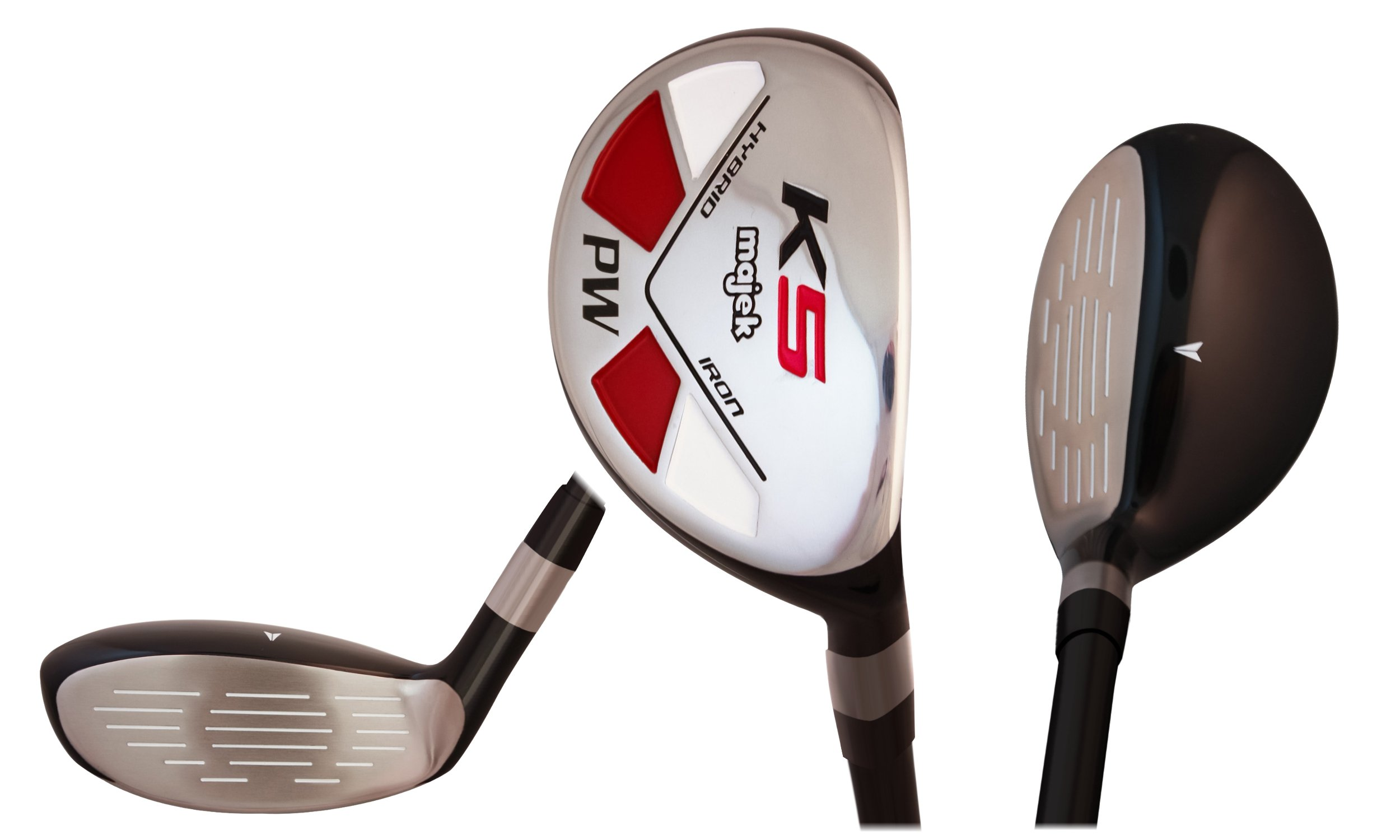 Majek Golf Petite Senior Lady PW Hybrid Lady Flex Right Handed New Rescue Utility''L'' Flex Club (Petite - 5' to 5'3'')