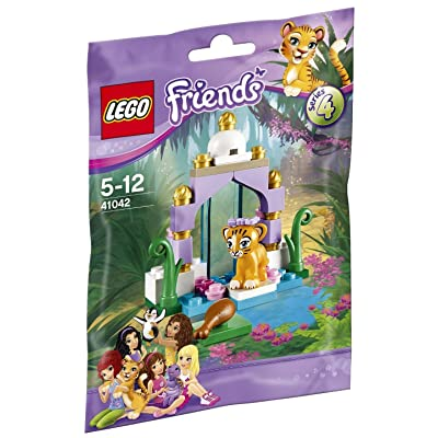Lego Friends Tiger's Beautiful Temple 41042 Building Kit: Toys & Games