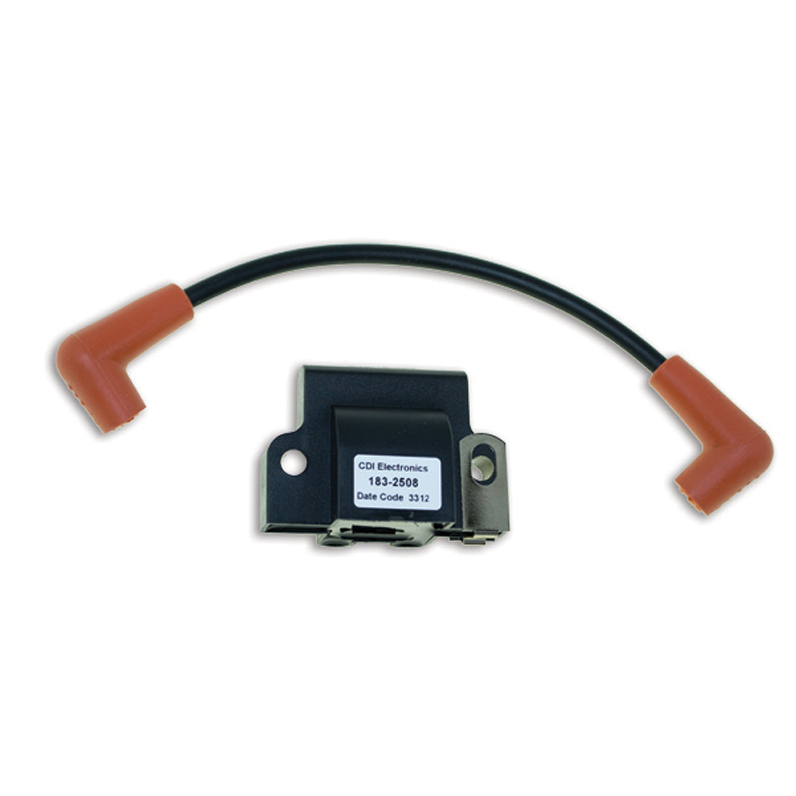 CDI Electronics 183-2508 Johnson/Evinrude Ignition Coil-2 Tower, 1/2/3/4/6/8 Cyl (1985-2005) by CDI Electronics