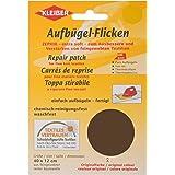 Kleiber - Parche de reparación termoadhesivo, de algodón, 40 x 12 cm, para telas de tejido fino, color marrón oscuro