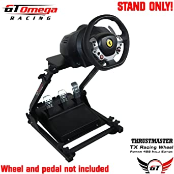 GT Omega Steering Wheel stand suitable For the Thrustmaster TX Racing Wheel Ferrari 458 Italia PC