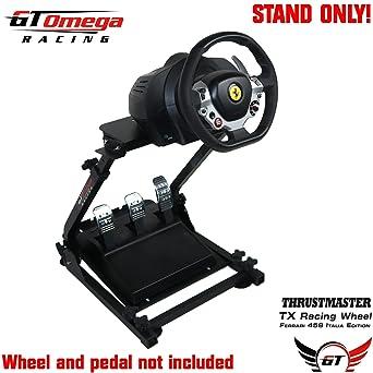 GT Omega Steering Wheel stand suitable For the Thrustmaster TX Racing Wheel Ferrari 458 Italia PC