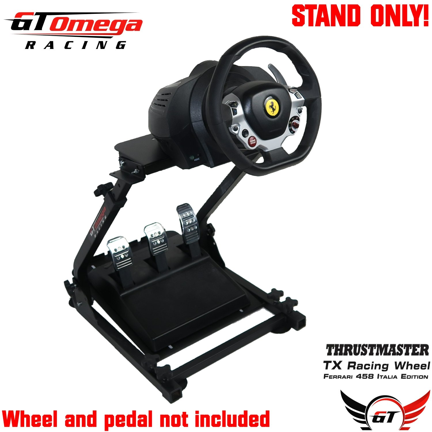 b4a6e3d8f19 ... GT Omega Steering Racing Driving Wheel Stand for Sony PS3, ...