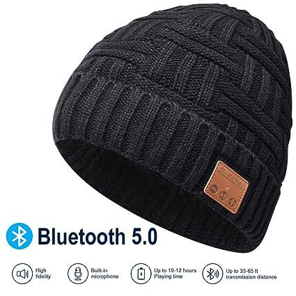 sito autorizzato primo sguardo Guantity limitata Bluetooth Beanie Hat, 5.0 Cappello Bluetooth, Cuffie a Cuffia ...