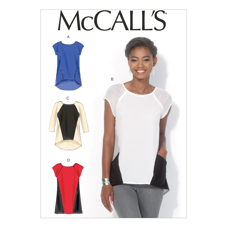 McCalls MC 7093 E5 (14-16-18-20-22) Schnittmuster zum Nähen, Elegant ...