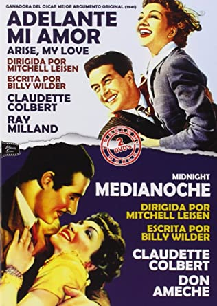 Pack Adelante Mi Amor - Medianoche [DVD]: Amazon.es: Claudette Colbert, Ray Milland, Dennis OKeefe, Don Ameche, John Barrymore, Mitchell Leisen, Claudette Colbert, Ray Milland: Cine y Series TV