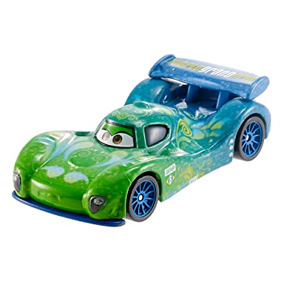 Disney Pixar Cars Die-cast Carla Veloso Vehicle: Toys & Games