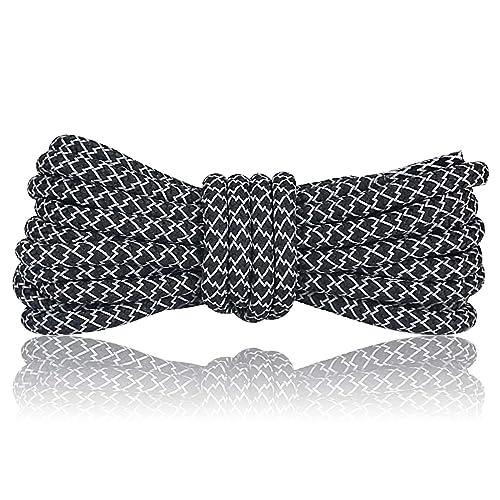 c07a0f50 Amazon.com: NEXCURIO Round Shoe Laces for Sneakers, Light Reflective ...