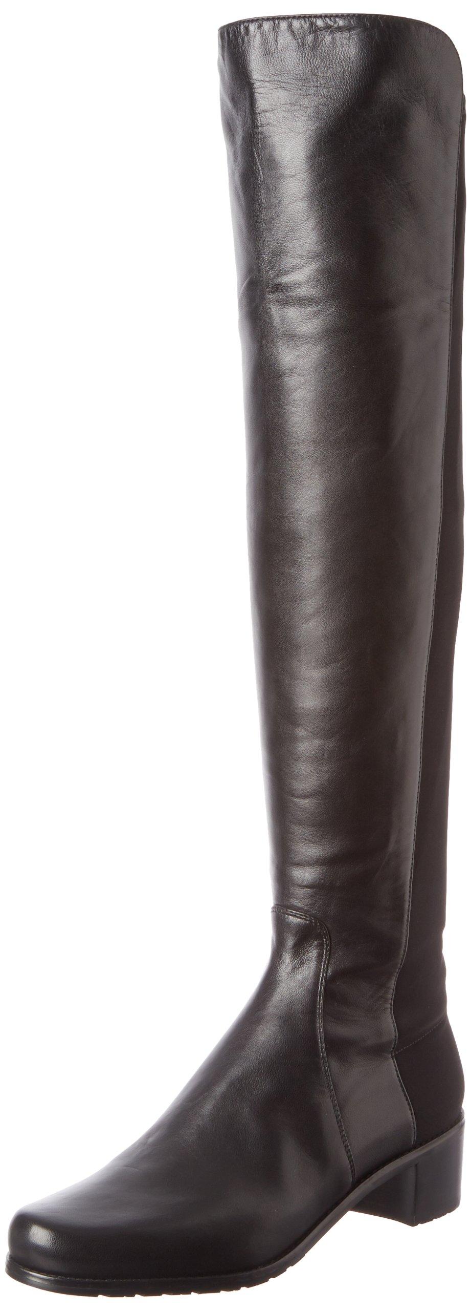 Stuart Weitzman Women's Reserve Boot,Black,7.5 M US