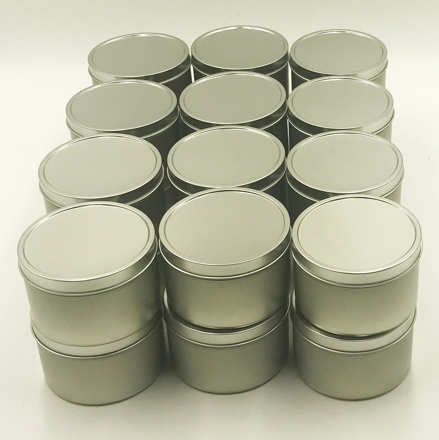 24pk Tin 8oz Candle Tin by Candlewic