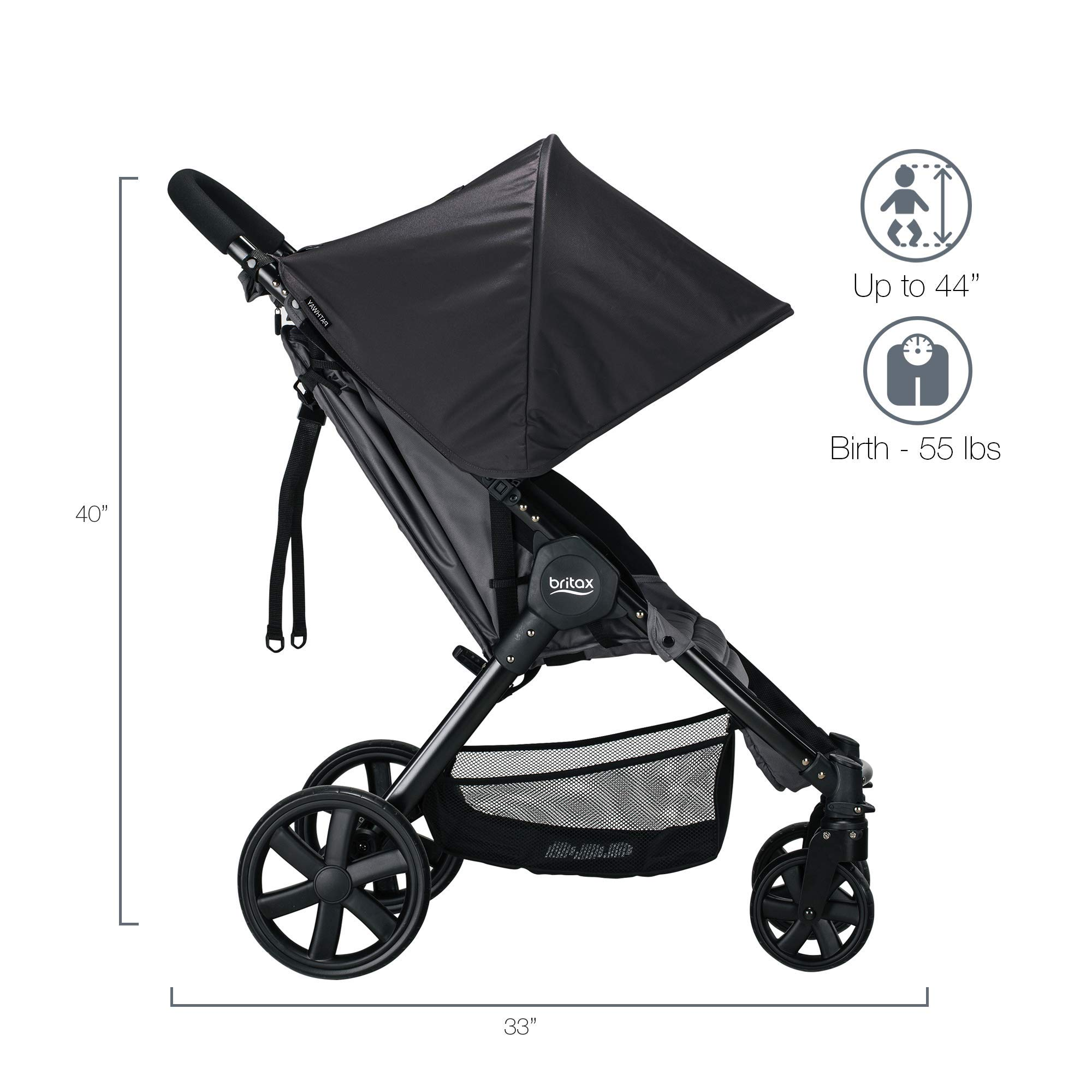 Britax Pathway & B-Safe Ultra Travel System, Sketch by BRITAX (Image #4)