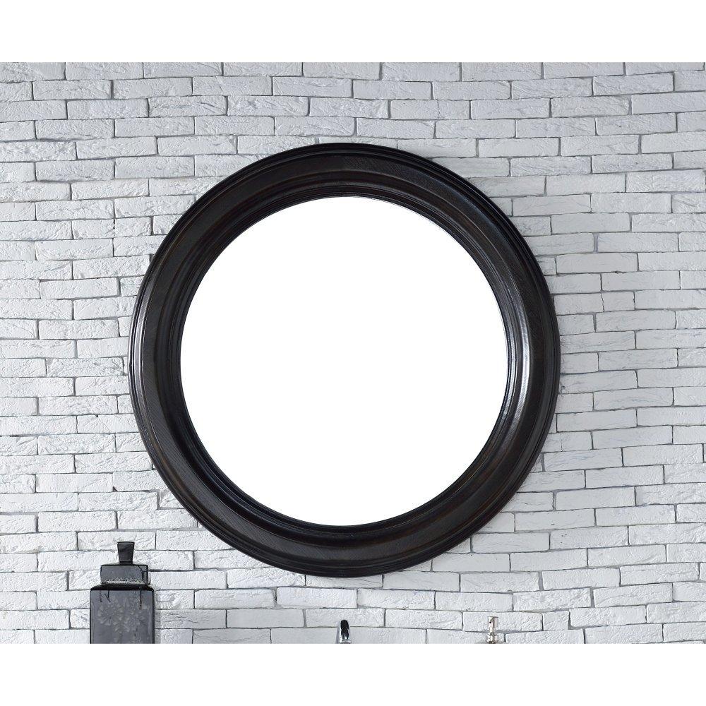 James Martin Vancouver 40'' Mirror in Cerused Ebony