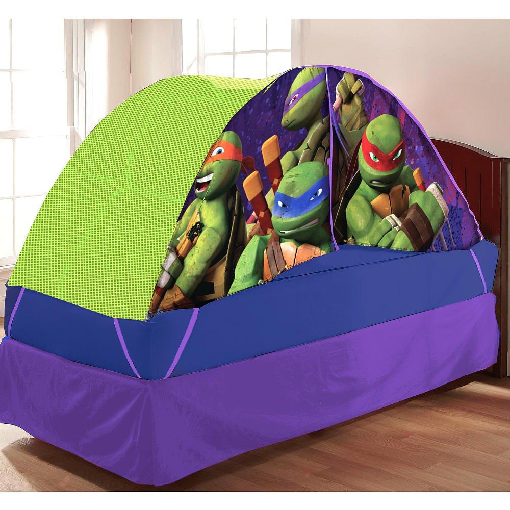 Teenage Mutant Ninja Turtles Bed Tent with Pushlight Play Tents - Amazon Canada & Teenage Mutant Ninja Turtles Bed Tent with Pushlight Play Tents ...