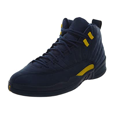 7bcd4945b44cc5 Image Unavailable. Image not available for. Color  Jordan Air 12 RTR  Michigan NRG - US 10.5
