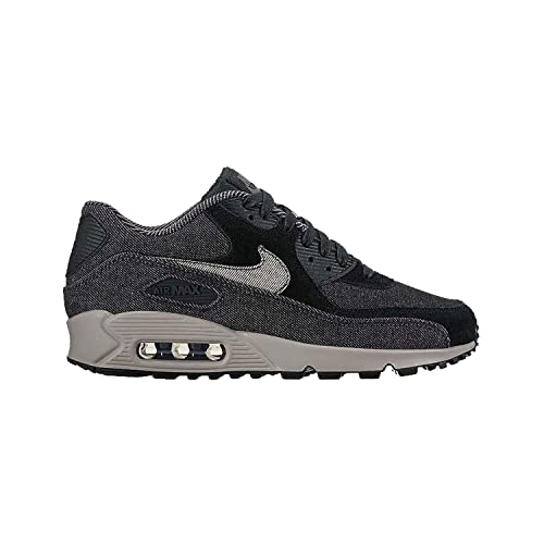 new concept acfe0 50ba0 Nike Women Air Max 90 Se Black Black-Dark Grey-Cobblestone Size 10. 5 US   Buy Online at Low Prices in India - Amazon.in