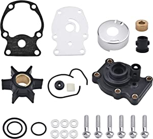 BDFHYK Water Pump Impeller Repair Kit with Housing for Johnson Evinrude 2-Stroke 20 25 30 35 Hp Outboard Engines Replace 393630, 393509, 391636, 0393630,Sierra 18-3382