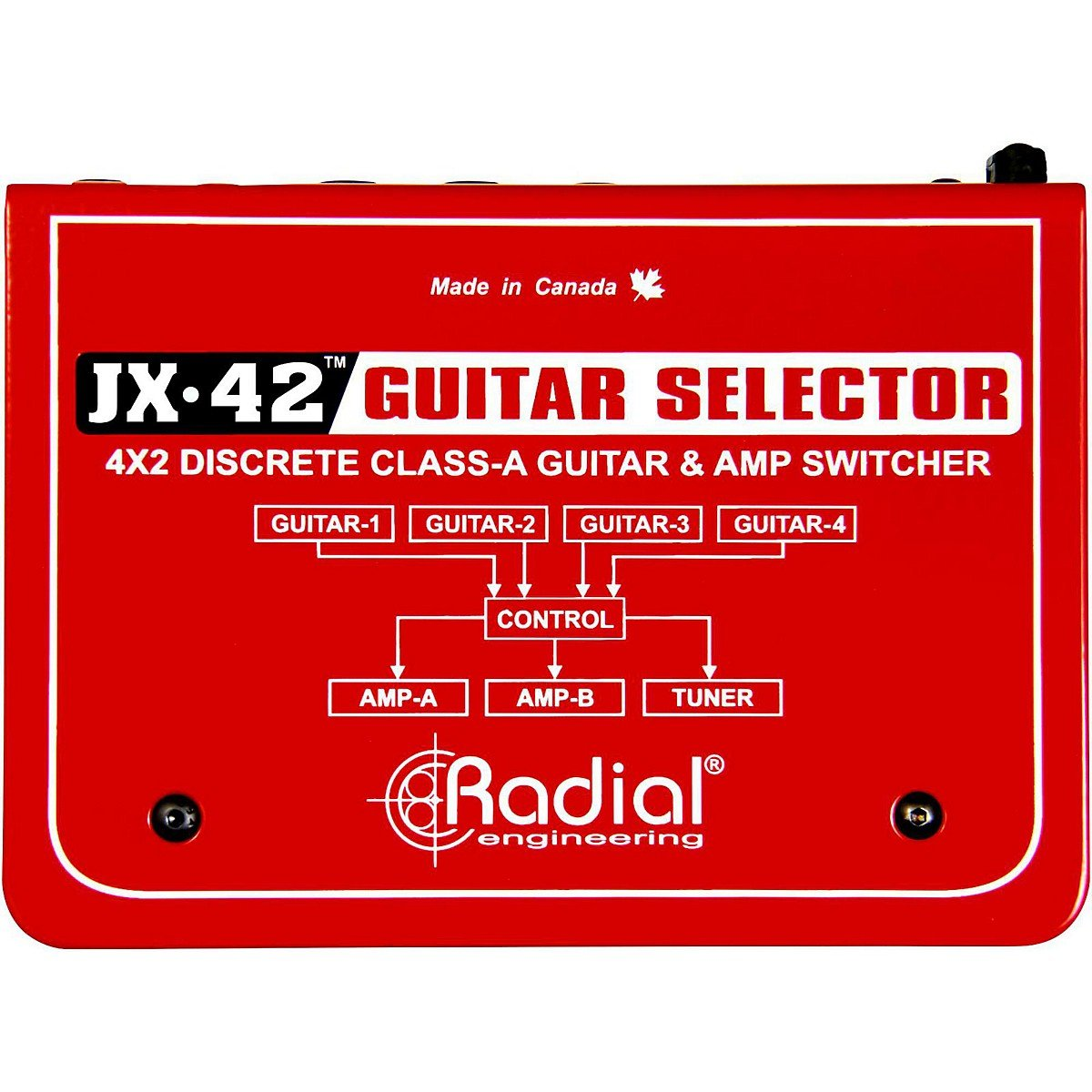 Radial JX-42 Guitar and Amp Switcher