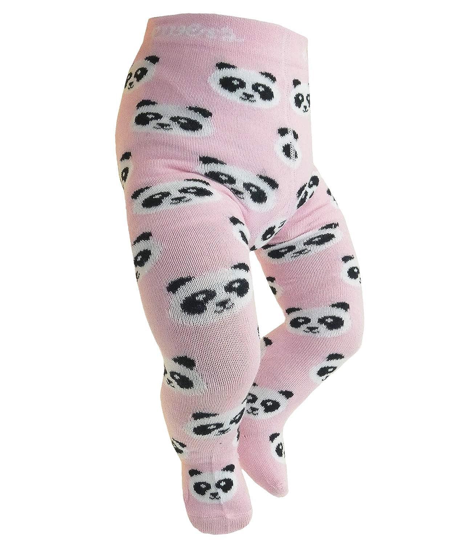 EveryKid Ewers 1er oder 2er Pack Mädchenstrumpfhose Sparpack Strumpfhose Markenstrumpfhose Kleinkind ganzjährig Panda Bär für Kinder (EW-905046-W18-MA5) inkl Fashionguide