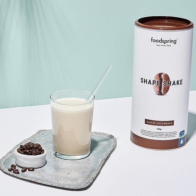 foodspring Shape Shake, Sabor Café, 750g, Batido saciante ...