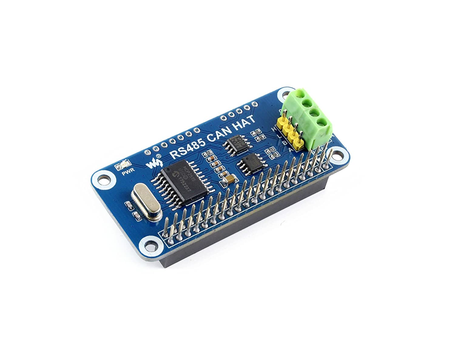 Waveshare Rs485 Can Hat For Raspberry Pi Function And Wiringpi Python On Board Allows To Communicate With Other Devices Stably In Long Distance