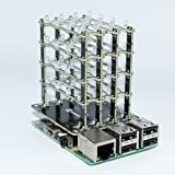 SB Components PiCube 4x4x4 LED CUBE for Raspberry Pi 3,2, Zero and A+