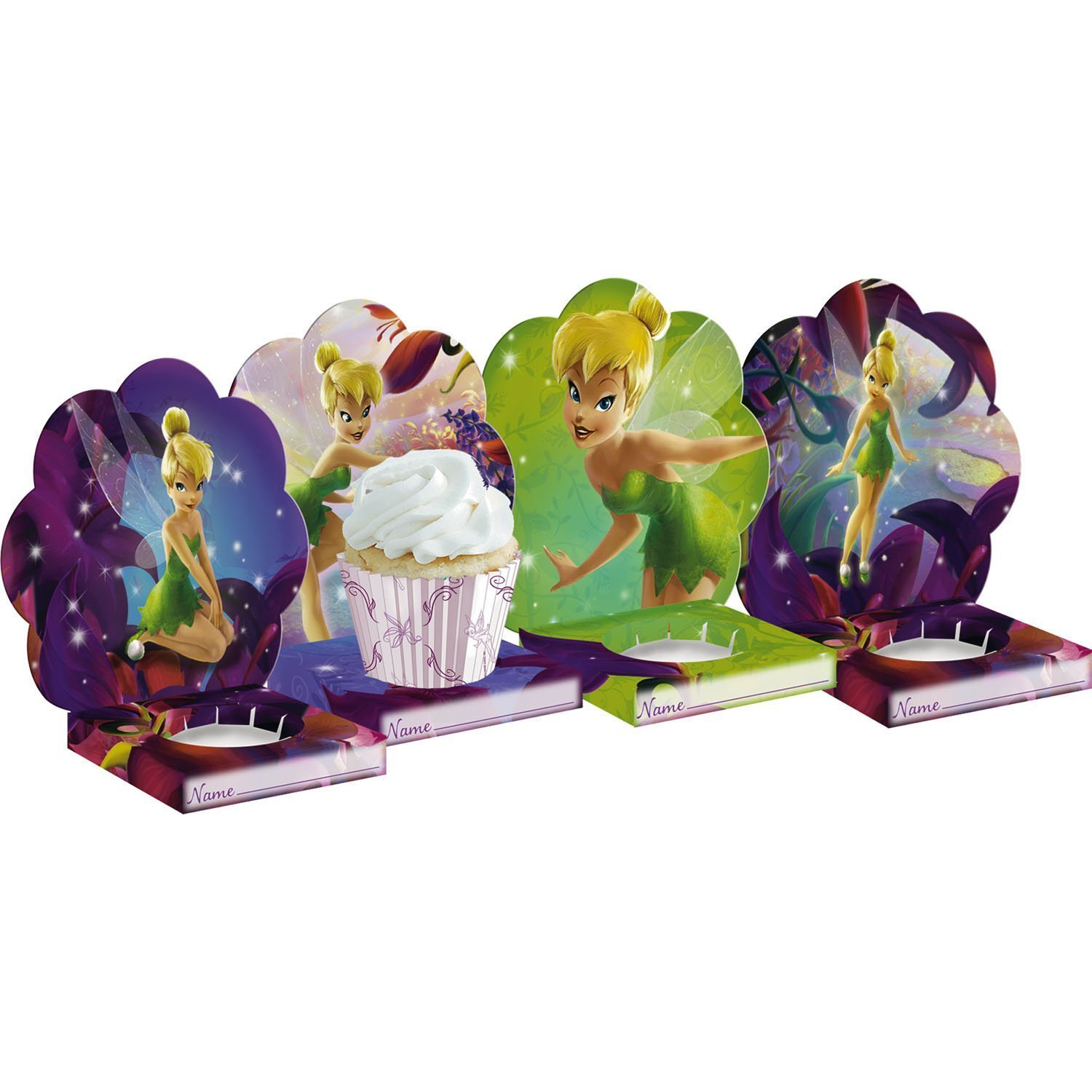 Tinker Bell Cupcake Holders by Amscan (Image #1)