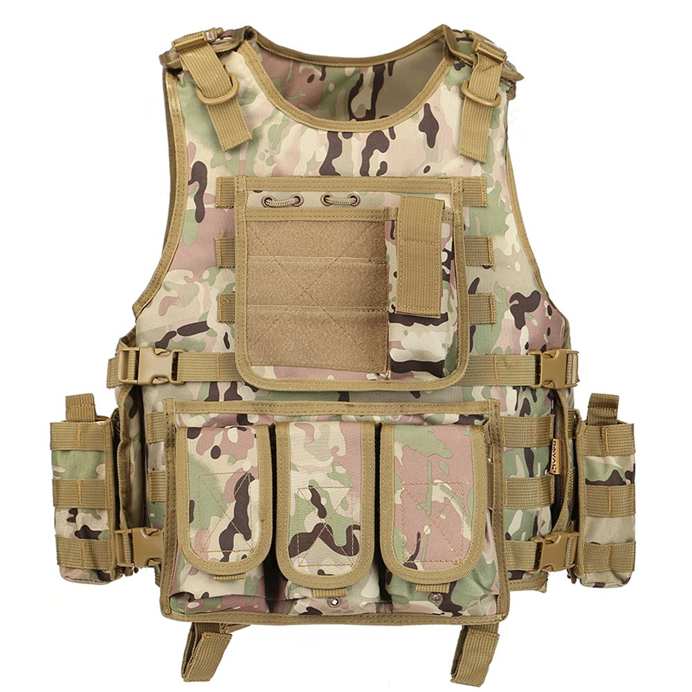 CP GZ XINXING Black Tactical Airsoft Paintball Vest