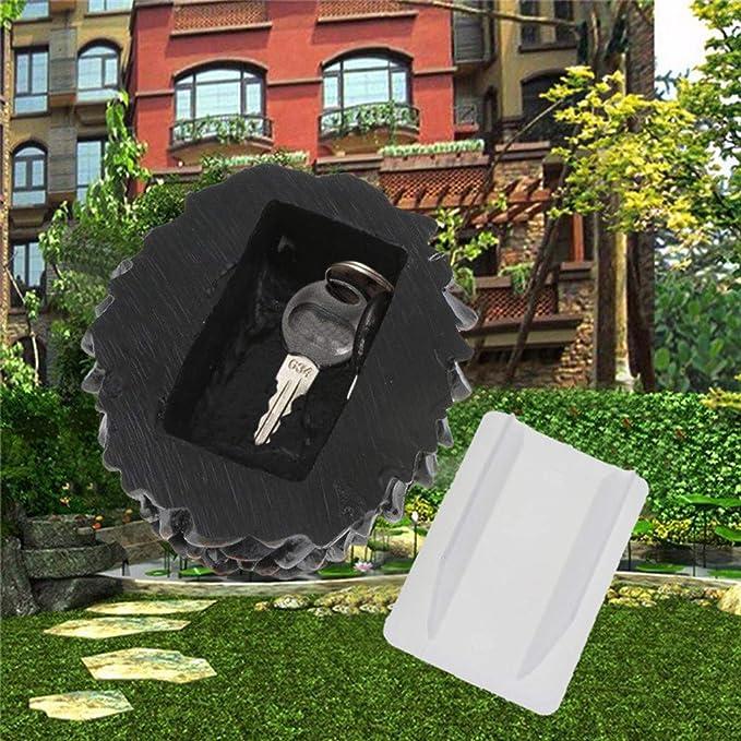 YA-Uzeun Novedad Rock Falsa Piedra Artificial escondite una ...