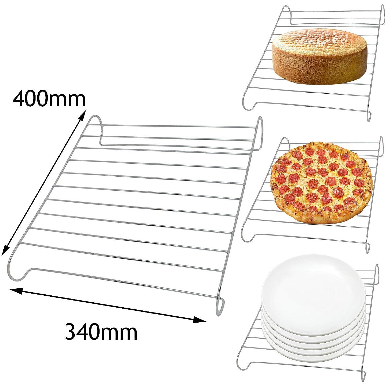 Spares2go horno calentador de Base de cocina placa Pizza rejilla ...