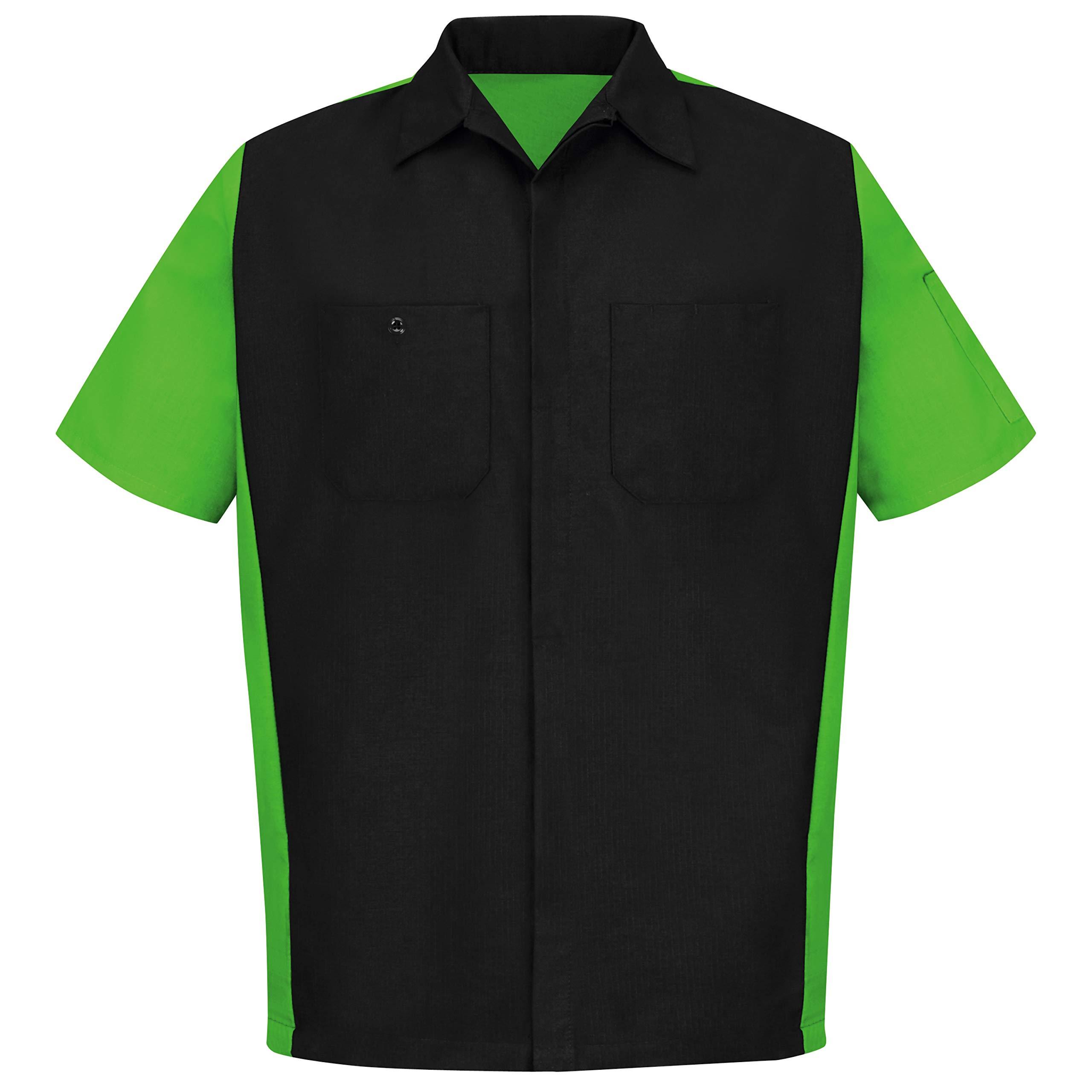 Red Kap Short Sleeve Two-Tone Crew Shirt