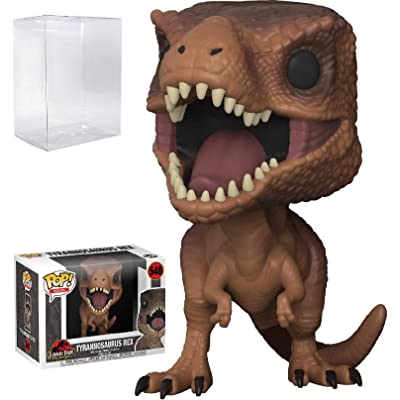Funko Pop! Movies: Jurassic Park - Tyrannosaurus Rex Vinyl Figure (Bundled with Pop Box Protector Case): Toys & Games