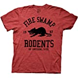 Ripple Junction Princess Bride Fire Swamp Rodents Adult T-Shirt