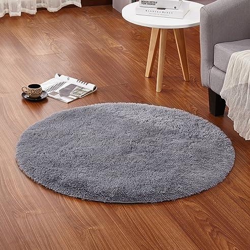 Eureya Weich Modern Rund, Ein Wohnzimmer Teppiche Teppiche Für Kinder  Schlafzimmer Kinderzimmer Mit Rutschfeste Unterseite