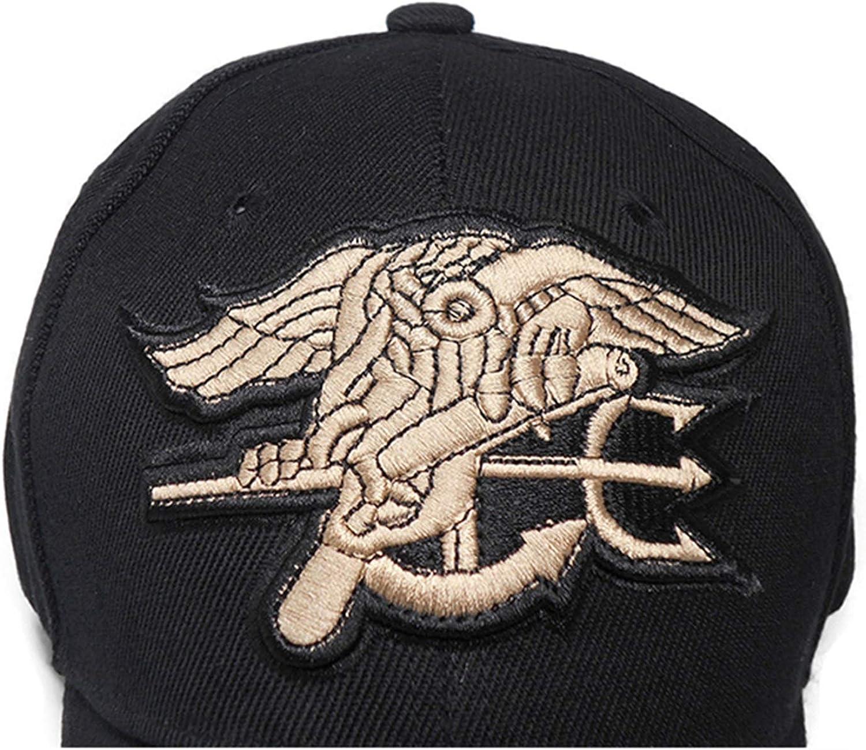 Mens US Team Tactical Baseball Cap Navy Seals Caps Cotton Adjustable Hat