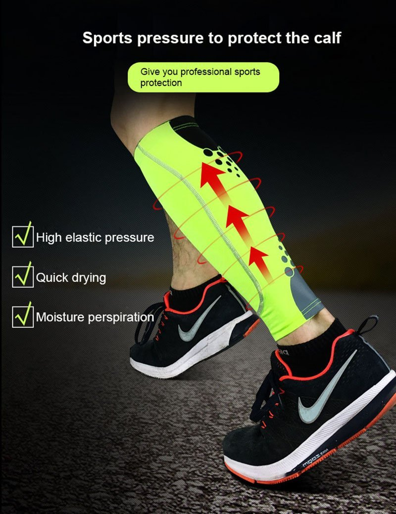 Amazon.com: 1PCS Basketball Football Leg Sleeves Calf ...