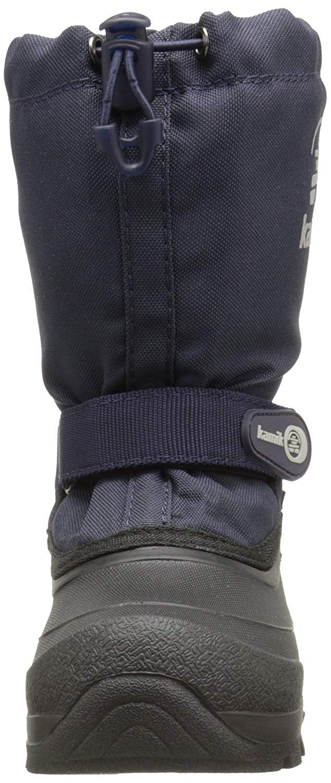 Kamik Snoday Insulated Winter Boot (Toddler/Little Kid/Big Kid), Dark Navy, 12 M US Little Kid by Kamik (Image #4)