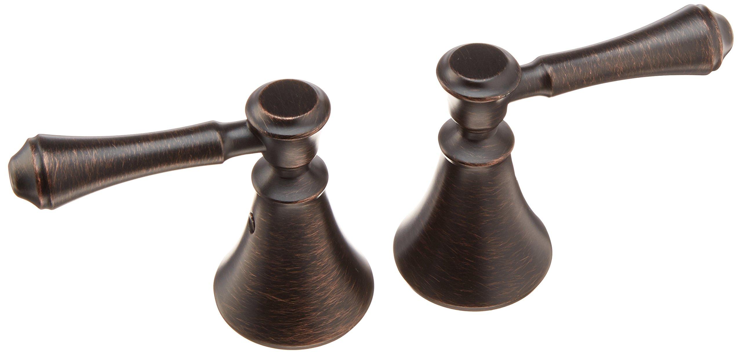 Delta Faucet H297RB Cassidy Two Lever Bath Faucet/Bidet Handle Kit, Venetian Bronze
