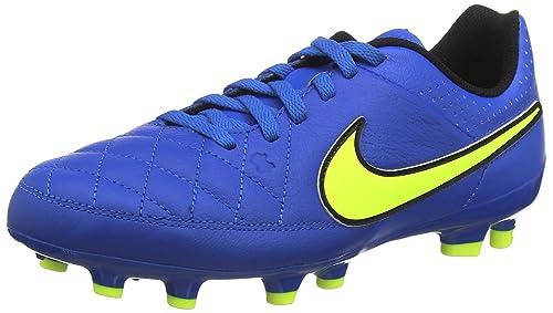 Nike Unisex Kinder Jr Tiempo Genio Leather Fg Fussballschuhe