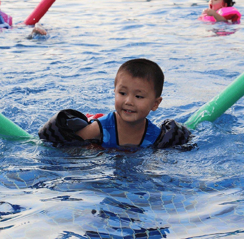 DoMyfit Summer Swimming Float Vest Children Water Sports Baby Children Swim Life Jacket Swim Training Jacket Toddler Learn-to-Swim Boys Girls
