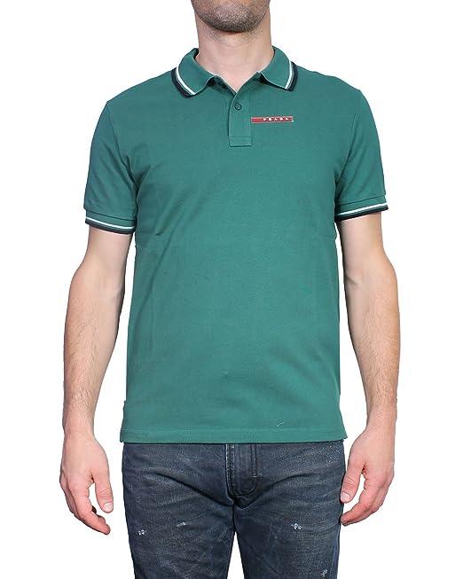 Prada - Polo para Hombre Slim Fit SJJ887: Amazon.es: Ropa y accesorios