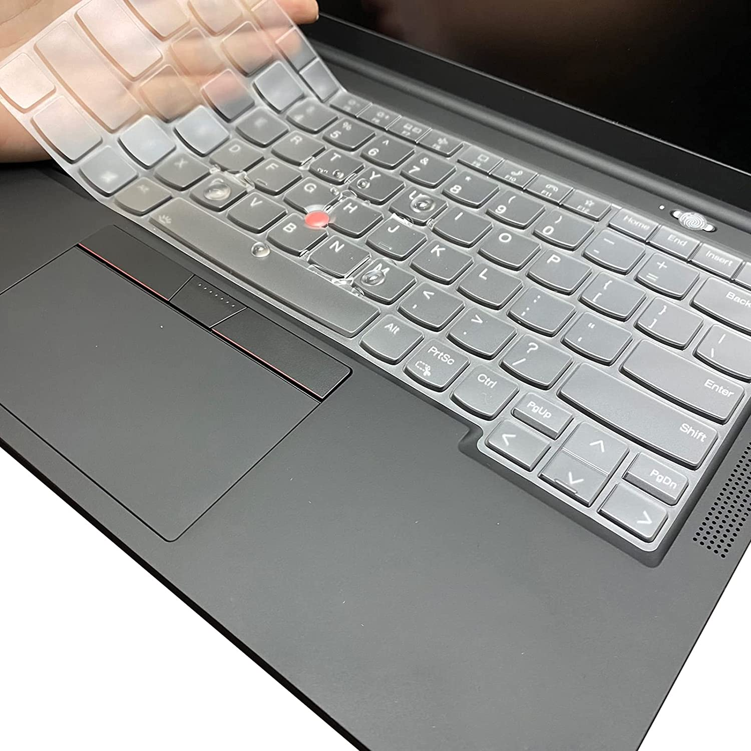 CaseBuy Keyboard Cover Compatible with 2021 Lenovo ThinkPad X1 Carbon 9th Gen 14