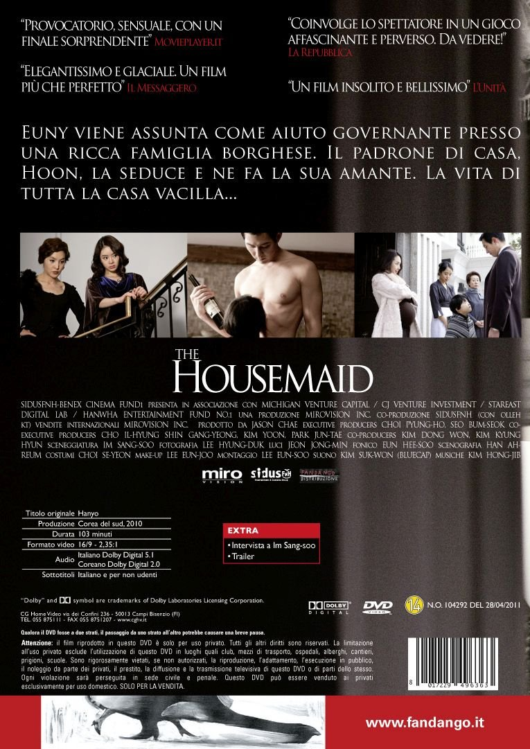 Amazon com: The Housemaid [Italian Edition]: do-yeon jeon
