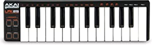 AKAI Professional LPK25 | USB-Powered MIDI Keyboard with 25 Velocity-Sensitive Synth Action Keys for Laptops (Mac & PC), Editing Software Included