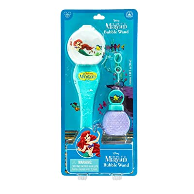 Disney Parks The Little Mermaid Musical Light-Up Bubble Blower Wand: Toys & Games