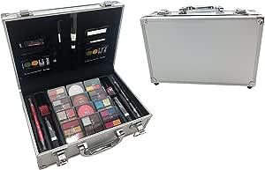 BR Carry All Train Case Makeup Set #AL41 46 Piece Kit by BR