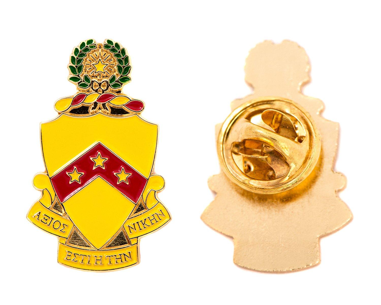 Desert Cactus Phi Kappa Tau Fraternity Crest Lapel Pin Enamel Greek Formal Wear Blazer Jacket