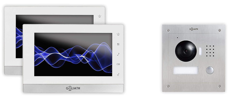 GOLIATH IP 2 Draht Video Türsprechanlage, 1,3 Megapixel Kamera, 2 x ...